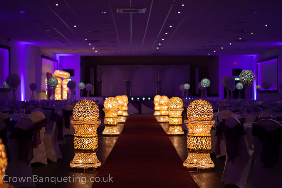 Wedding Venue Decorations Crown Banqueting Hall